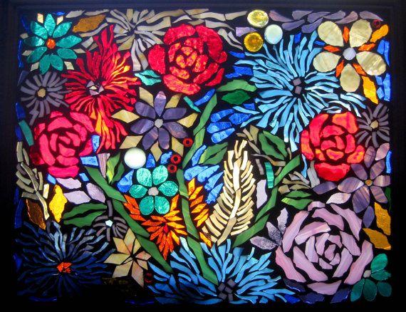 873 best Flowers - mosaic inspiration images on Pinterest | Mosaic ...