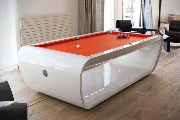 BlackLight Billiards Table Toulets