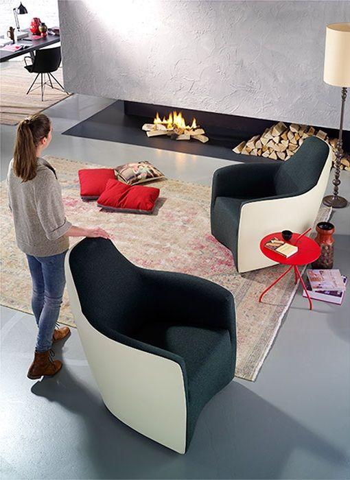 Één van de best zittende modellen van de Bert Plantagie Collectie. Fauteuil Lounge.