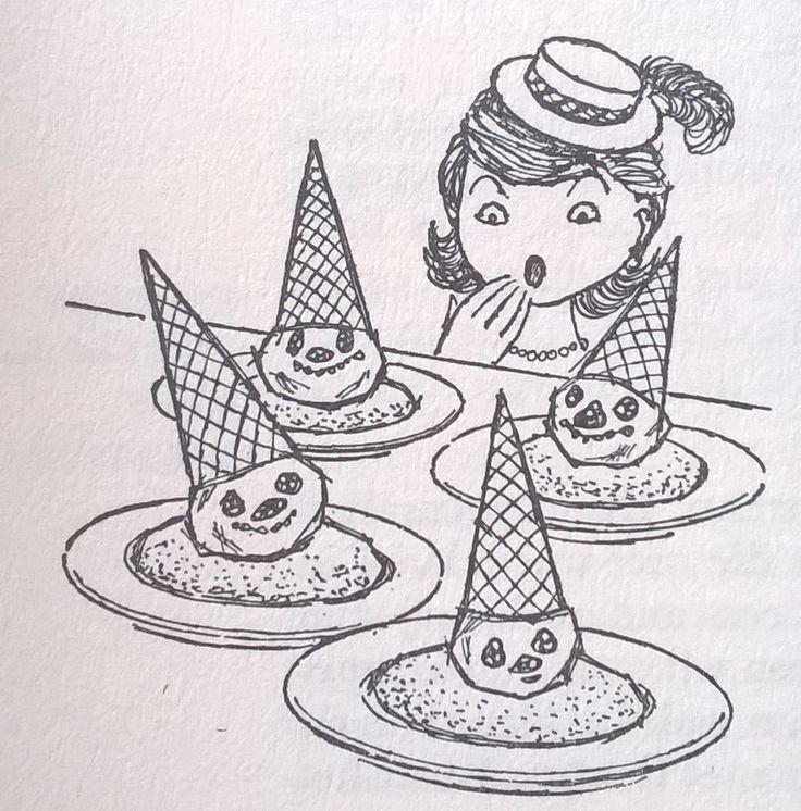 kinderijs (uit Baedeker voor de vrouw, een 25-delig naslagwerk voor de huisvrouw uit de jaren '50)