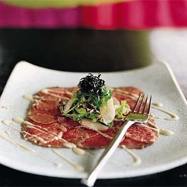 Carpaccio de ternera #recipes #cuisine