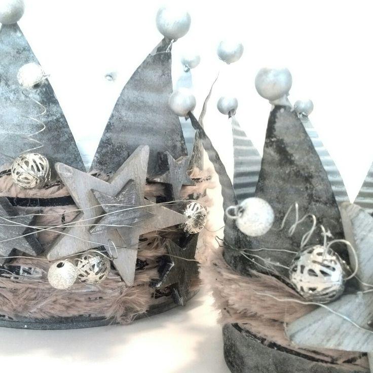kaeptnfraune krone konservendose blik kroon windlicht weihnachten kerstmis upcycling. Black Bedroom Furniture Sets. Home Design Ideas
