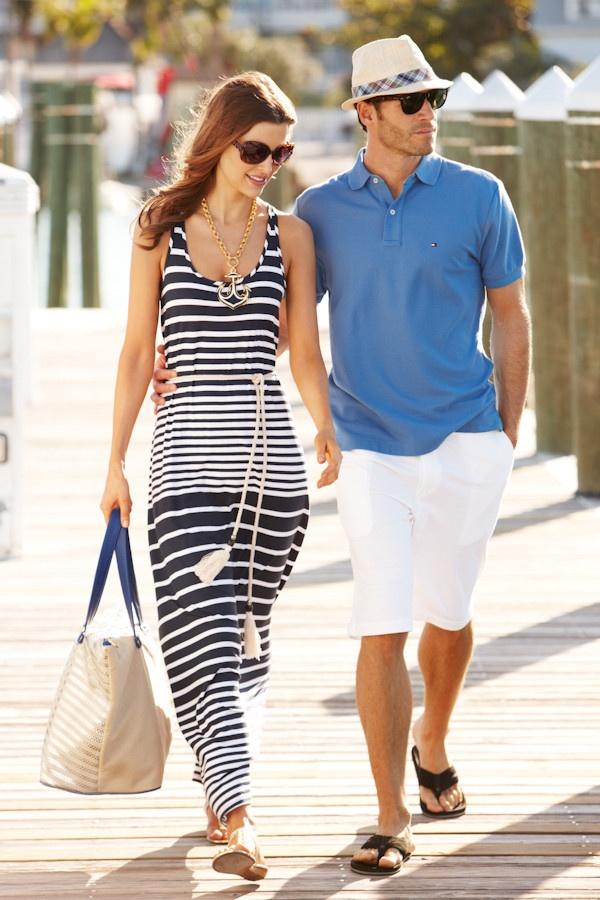 Stripe dress.. Love it!!