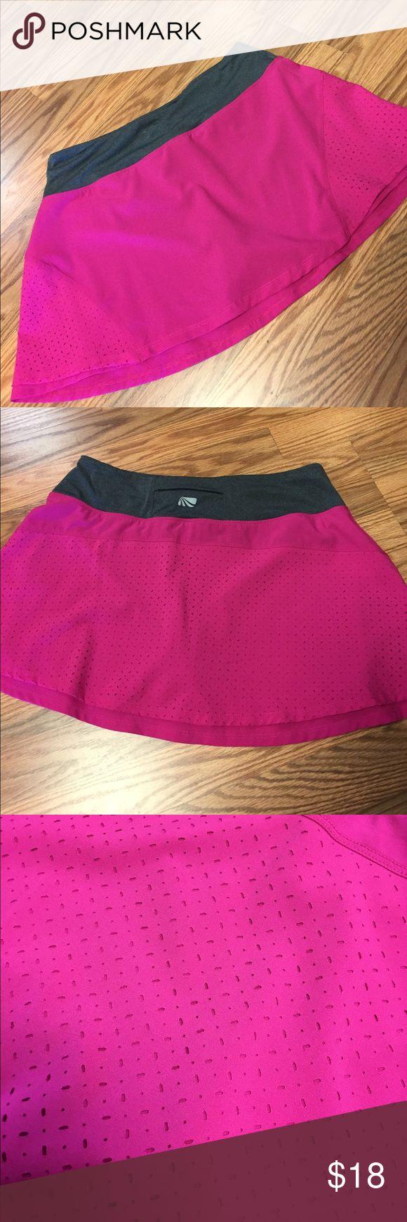 Marika Pink and gray athletic skort Marika Skirts