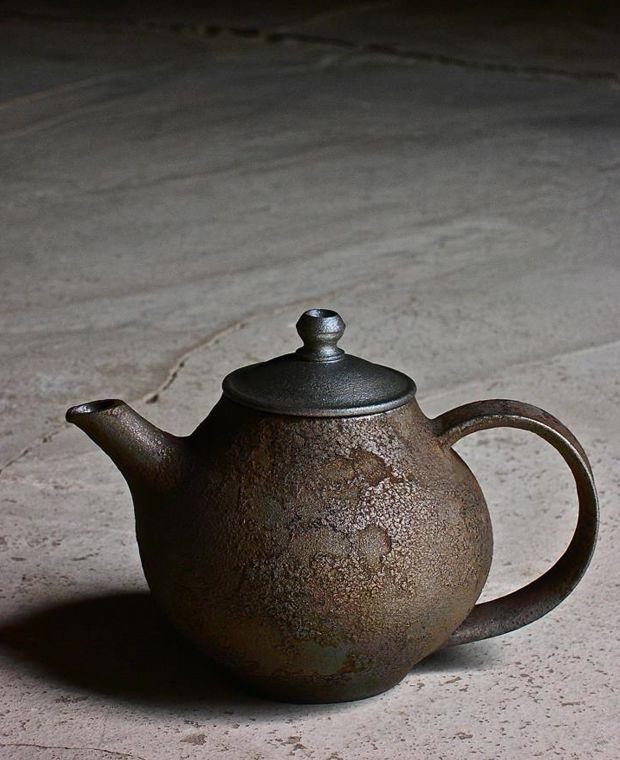 Kazunori Ohnaka #Ceramics #Teapot
