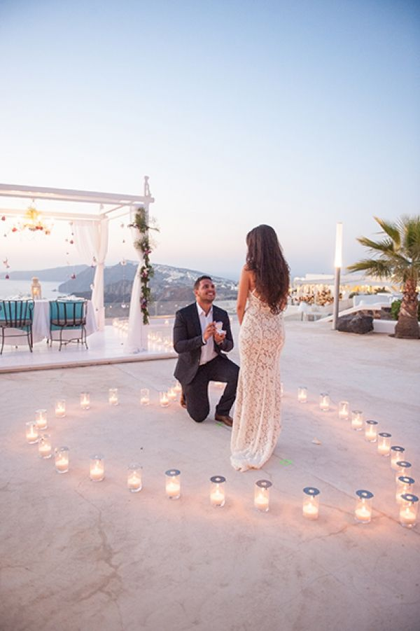"A wedding proposal that we will remember forever. This is the story of George and Olivia, by our groom himself:""We arrived in Santorini by SeaJet and..."