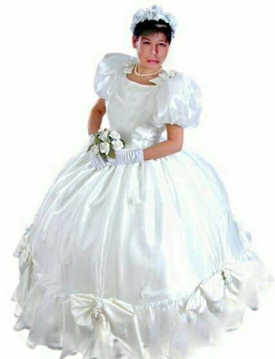 Crossdresser Wedding Dress Fashion Dresses