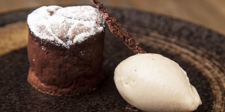 This luxurious chocolate fondant recipe by Matt Weedon features the surprisingly delicious combination of stout and ice cream, which perfectly complements the oozing warm fondant.