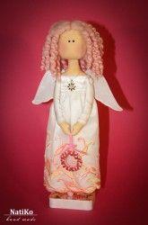 MK na panenky primitivní Vánoční anděl