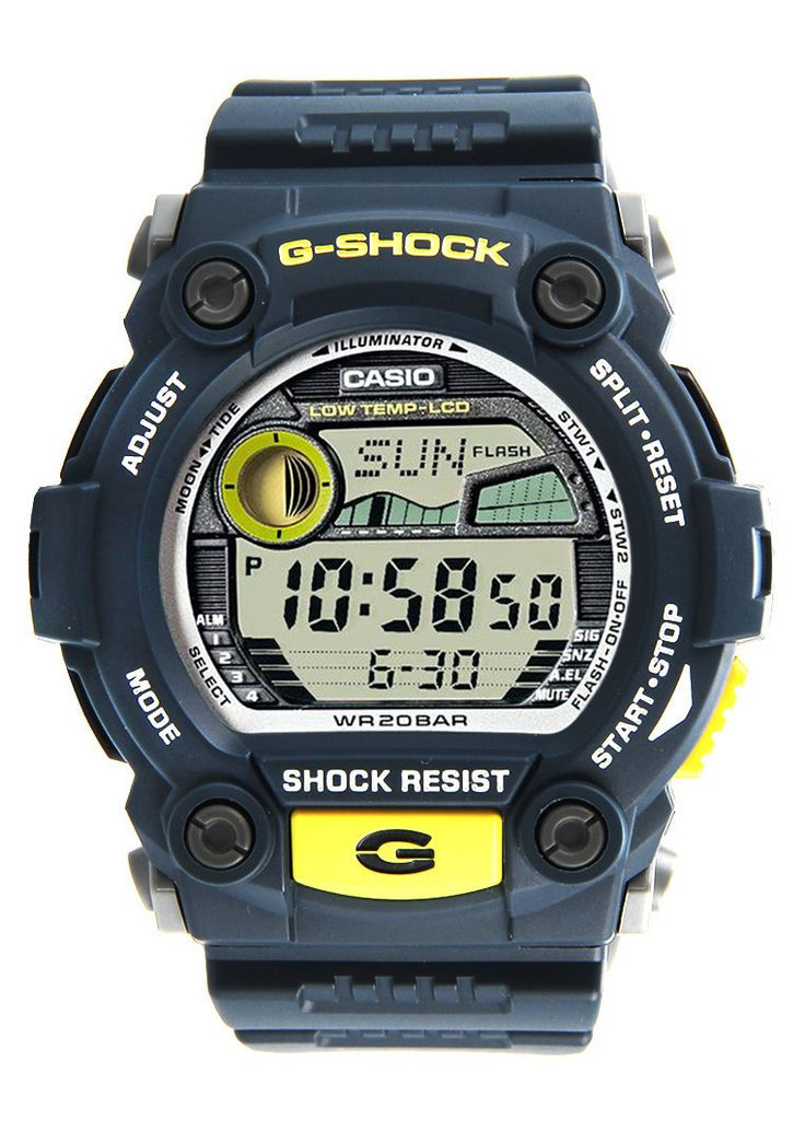 G SHOCK G 7900 2DR Watch, the watch that brought unmatched toughness to personal timekeeping, comes a collection of models that deliver a level of protection. These watches are designed and engineered to become partners of people who like their activities rough and rugged. http://zocko.it/LDsxI