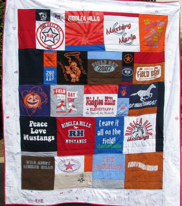 Make a T-Shirt Quilt the Hoecake Way