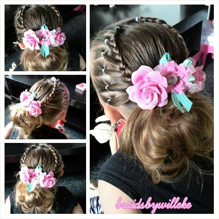 Cute girls hairstyle