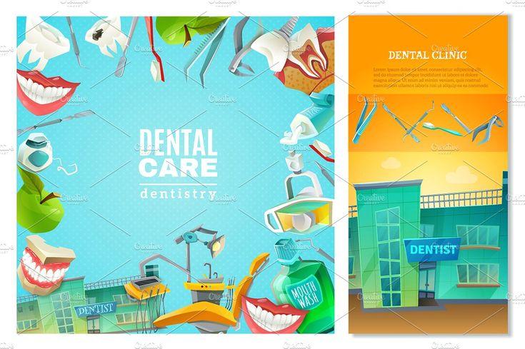 Dentist Cartoon Set - Illustrations - 3