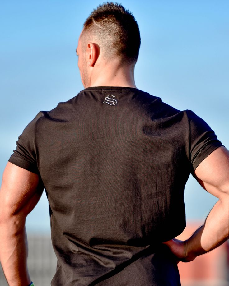 @strongliftwear Rise n' Grind Tee II - CoolTech - Black #fitness www.strongliftwear.com