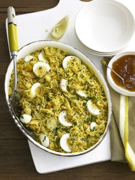 Kedgeree (British Curried Rice With Smoked Haddock) Recipe ...