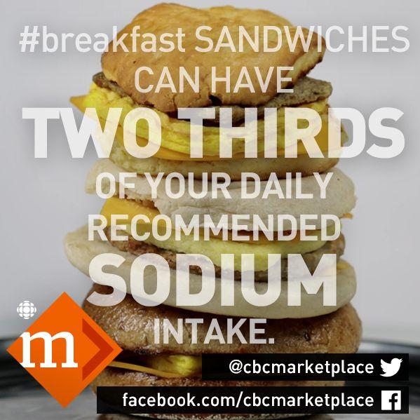 Should you grab an on-the-go breakfast sandwich? Watch this first: https://www.youtube.com/watch?v=32RJjQSsPxs&index=22&list=PLeyJPHbRnGaZTZI0F1XULbRYigBjVltPd