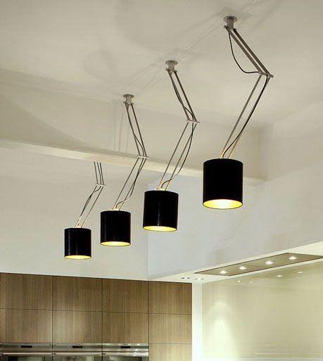 Minimal Ceiling Light by Supermodular