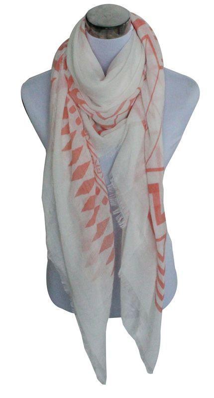 Sjaal - Roze ruiten #mode #sieraden