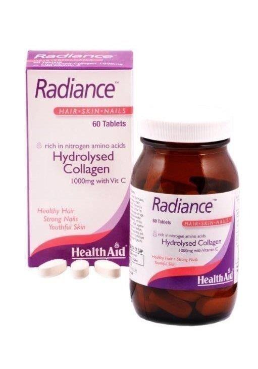 Υδρογολυμένο Κολλαγόνο 1000mg με Βιταμίνη C, για υγιές δέρμα, νύχια και μαλλιά.  Ενα συμπλήρωμα διατροφής από την Health Aid για την υγεία των μαλλιών & των νυχιών, για δέρμα ελαστικό χωρίς ρυτίδες και για υγιείς αρθρώσεις και συνδ...