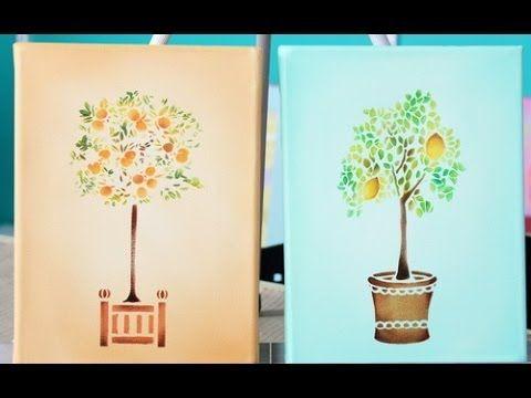 Como pintar cuadros pequeño formato - Claudia Kunze - YouTube**************************