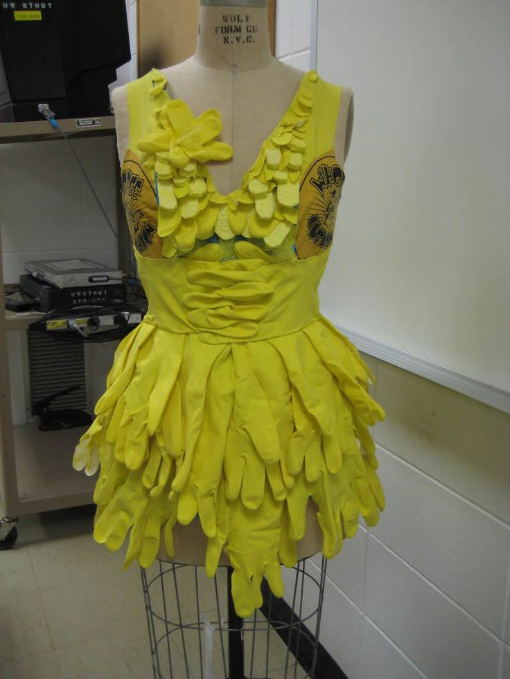 Rubber Glove Dress - CLOTHING