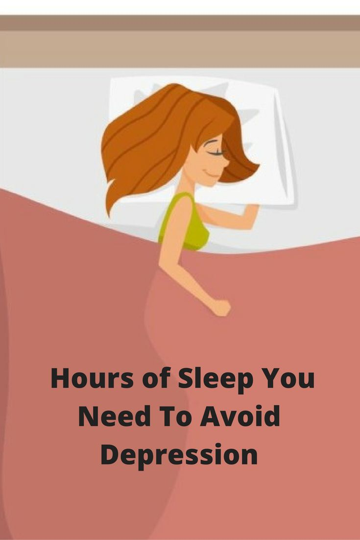 Here's How Many Hours of Sleep You Need To Avoid Depression
