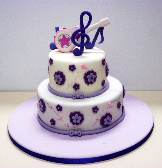 Tortas de violetta para cumpleaños de 10 años - Imagui