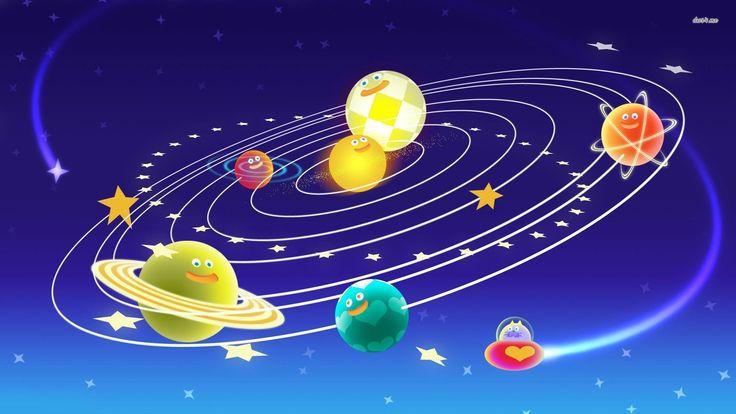 Funny Solar System Wallpaper WallDevil