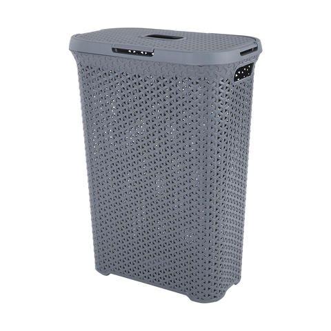 Plastic Woven Hamper | Kmart