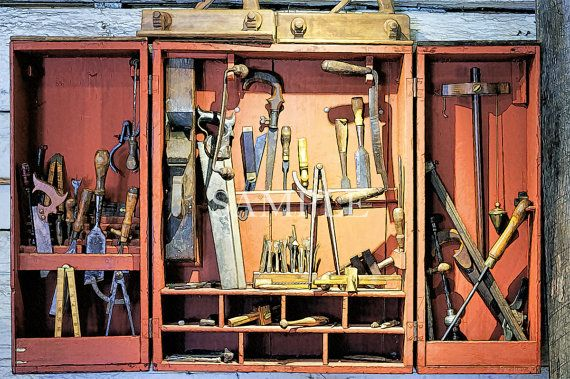 The Old Tool Cabinet at Phelps Barn, Simsbury, Connecticut, 20x30 canvas limited edition