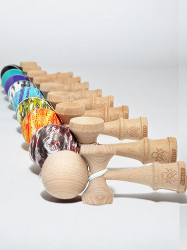 Sweets Kendama. I'd get these for my grandkids when I'm in MN (Creative Kidstuff)