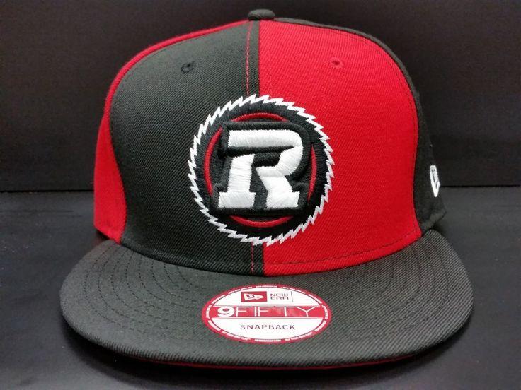 Ottawa Redblacks Snapback Exclusive Custom Pinwheel