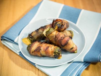 Grilled Stuffed Jalapeno Chiles Recipe | Marcela Valladolid | Food Network