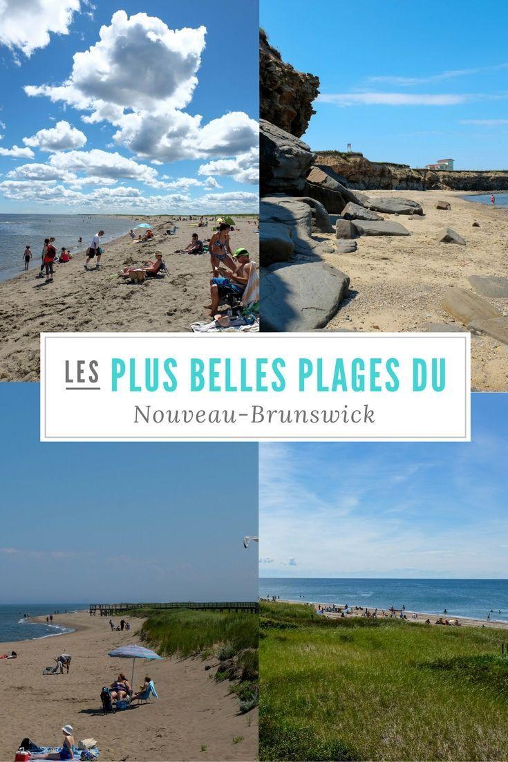 Qui dit Nouveau-Brunswick, dit plages! On ne pouvait donc pas parler en parler sans vous présente nos plages coup de coeur! #Canada #Plages #Voyage