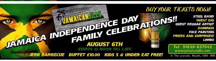 Jamaica Independence Day Family Funday in Neath South Wales