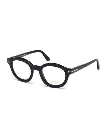 TOM FORD Oval Optical Frames, Black. #tomford #