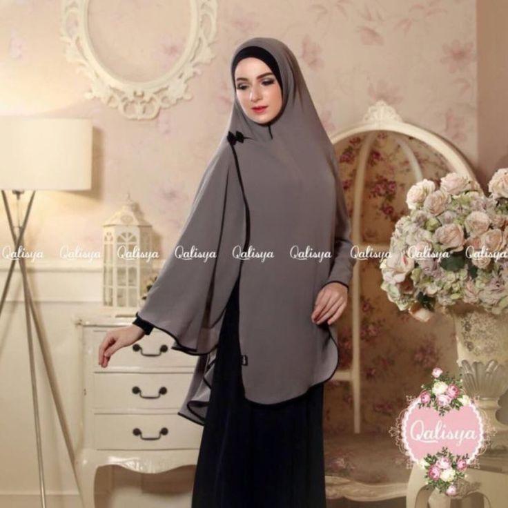 Lauza Instant Hijab One Piece Khimar Amira Slip On Scarf Abaya Islam Muslim