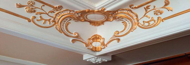 Интерьер в стиле барокко или ампир Ваша мечта? Нравится гипсовая лепнина и лепной декор? Желаете барельеф и молдинги на стену? Лепнина, барельефы, молдинги, розетки, маскароны и полуколонны для стен и фасада.