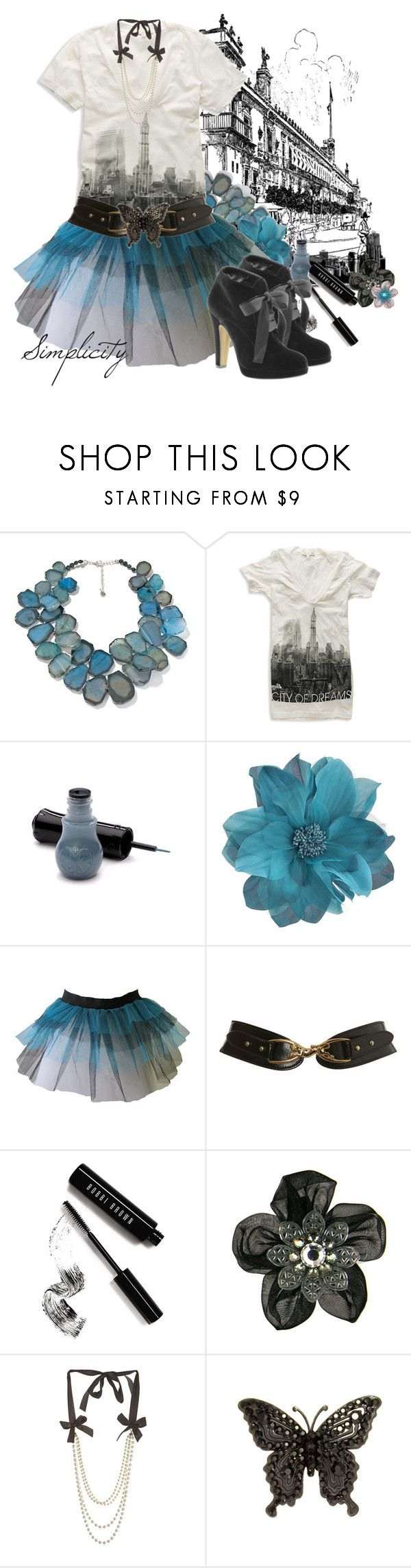 """""""Simplicity"""" by tshirtjunkie ❤ liked on Polyvore featuring Barse, Forever 21, Anna Sui, Miss Selfridge, Bobbi Brown Cosmetics, Moschino Cheap & Chic, Tarina Tarantino, boots, tshirt and tutu"""