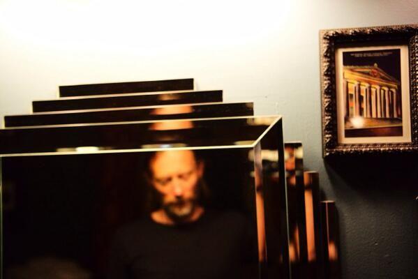 Thom Yorke as twitted by Thom Yorke.