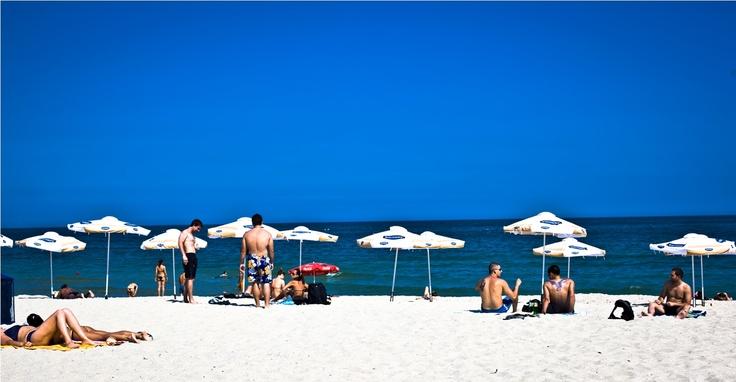 People on the Beach! Varna, Bulgaria