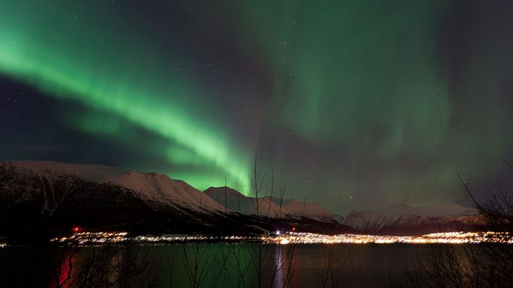 Nordlys i Ørsta - Dette er i Ørsta natt til 23/1-2012. - Foto: Andre Kragset /