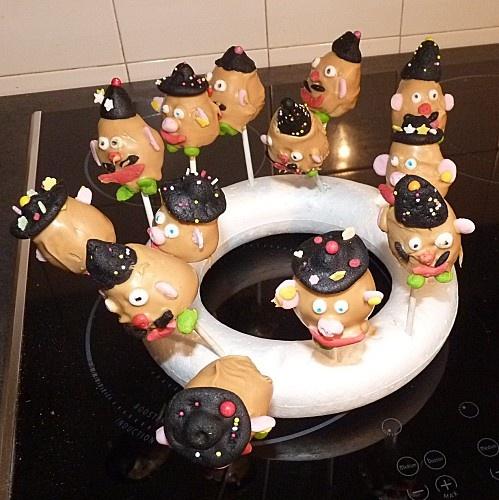 Popcakes Mister Patate  cours de cuisine enfants à domicile à Lille et environs  Menthe & Safran
