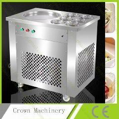 [ $113 OFF ] One Pan Fried Ice Cream Roll Machine; Pan Fry Flat Ice Cream Maker;yoghourt Fried Ice Cream Machine