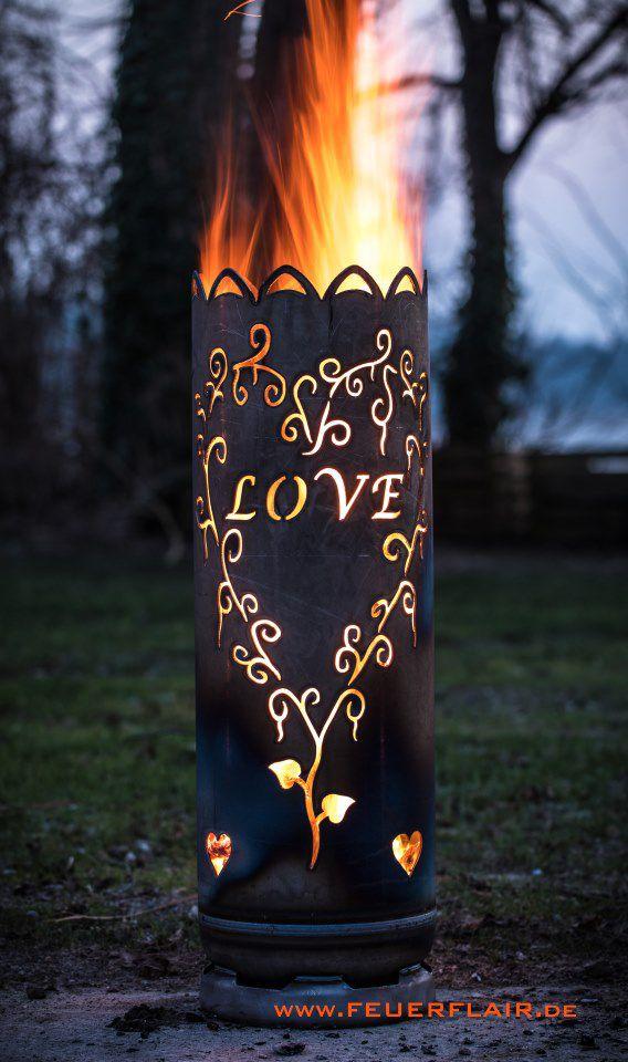 Feuertonne Liebe Feuertonnen Feuer Tonne