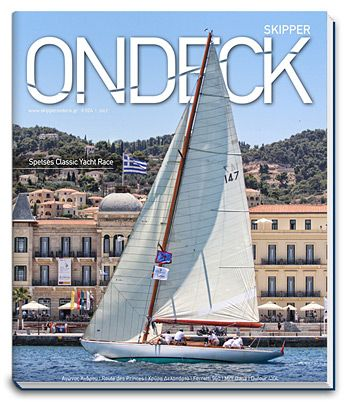 Skipper ONDECK issue #024. Spetses Classic Yacht Race