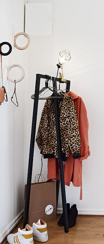 Loop Stand Hall black & Gym Hooks   |  www.hay-amsterdam.com