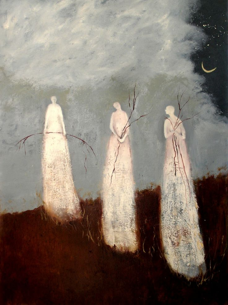 Jeanie Tomanek Women working together under the new moon. Definitely want more of this in 2014.