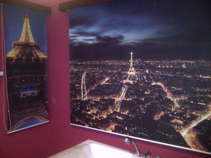 Blackout con diseño París