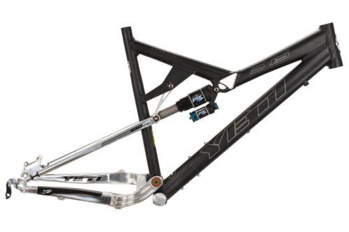 "2007 Yeti 575 Long Travel Alloy Full Suspension Mountain Bike Frame 20.5"" XL"